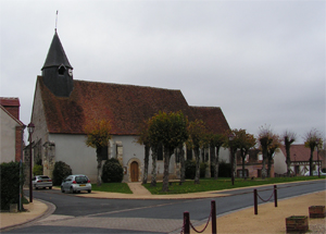 Eglise de Marcilly en gault