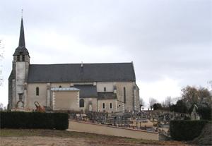 église et cimetière de Villeherviers