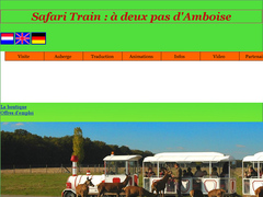 Safari train près d'amboise