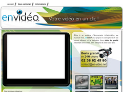Détails : En-video.net - votre site web en video  - orleans