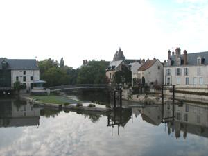 barrage sur la Sauldre à Romorantin