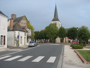 centre ville de Theillay