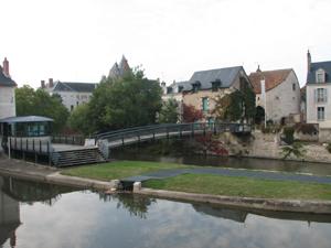 pont du musée de la Sologne à Romorantin